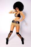 афро девушка Стоковые Фотографии RF