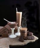 Ах шоколад Стоковые Изображения