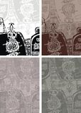 ацтекская предпосылка Стоковые Изображения RF
