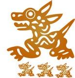 ацтекский идол Стоковые Изображения RF