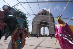 ацтекский ратник стоковые изображения