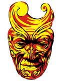 ацтекский уроженец маски Стоковые Изображения RF