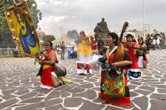 Ацтекское индийское торжество Стоковые Фотографии RF