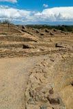 Ацтек губит национальный монумент в Неш-Мексико Стоковая Фотография RF