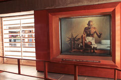 Ашрам Ганди стоковое фото rf