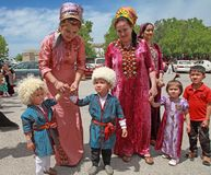 Ашхабад, Туркменистан - 10-ое марта 2013 Портрет молодой ООН Стоковые Фотографии RF