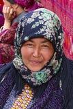 Ашхабад, Туркменистан - 10-ое марта 2013 Портрет unidentif Стоковое фото RF