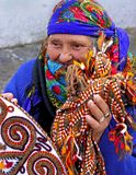 Ашхабад, Туркменистан - 26-ое февраля 2013 Портрет старой uni Стоковое Фото
