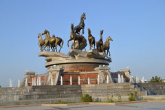 Ашхабад Туркменистан Стоковые Фотографии RF