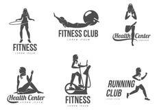 Аэробный логотип Стоковое Фото