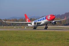 Аэробус A330 авиакомпании Стоковое Изображение RF