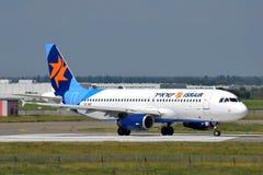 Аэробус A320 авиакомпаний Israir стоковое фото rf