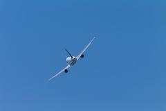 Аэробус воздушных судн летая прочь Стоковое Фото