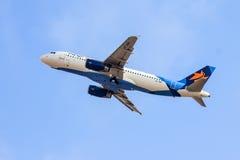 Аэробус A320 стоковое изображение rf
