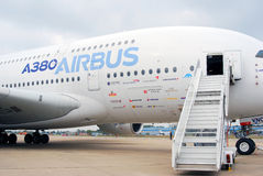 Аэробус A380 Стоковые Фото