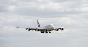 Аэробус A380 Стоковое Изображение