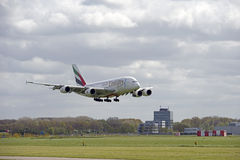 Аэробус A380 Стоковая Фотография
