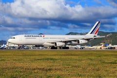 Аэробус A340 Air France стоковое изображение