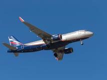 Аэробус A320 b Petrovsky Стоковое Фото