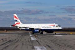 Аэробус A320-232 British Airways Стоковые Изображения