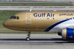 Аэробус A320-214 A9C-AQ Gulf Air Стоковая Фотография