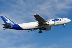 Аэробус A300C4-605R авиакомпаний TC-MNV MNG Стоковое Изображение RF