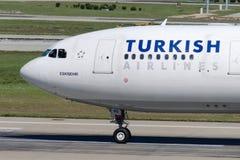 Аэробус A330-202 ESKISEHIR TC-JNG Turkish Airlines Стоковое фото RF