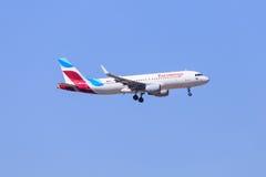 Аэробус A320 Eurowings Стоковая Фотография RF