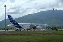 Аэробус A380-800 F-WWJB Стоковая Фотография RF