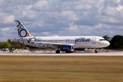 Аэробус A320 JetBlue Стоковое фото RF