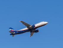 Аэробус A320 Kurchatov Стоковая Фотография