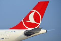 Аэробус A330-343 TC-JNK Turkish Airlines Стоковые Фотографии RF