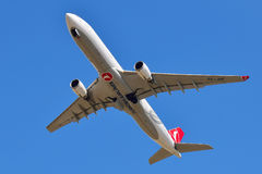 Аэробус A330 Turkish Airlines Стоковое Изображение RF