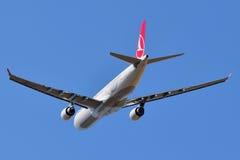 Аэробус A330 Turkish Airlines Стоковое Фото