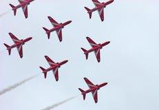 Аэроплан на авиасалоне Portrush n r стоковые фотографии rf