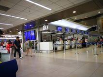 Аэропорт Бангкока Дон Mueang, Таиланд, стоковые фотографии rf
