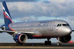 Аэрофлот - русские авиакомпании Стоковое Изображение
