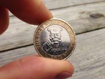 1-ая монетка мировой войны Стоковые Фотографии RF