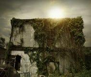 ая дом страшная Стоковые Фотографии RF