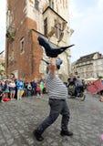 30-ая улица - международный фестиваль уличных театров в Cracow, Польше Стоковые Изображения
