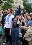 30-ая улица - международный фестиваль уличных театров в Cracow, Польше Стоковая Фотография