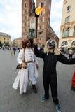 30-ая улица - международный фестиваль уличных театров в Cracow, Польше Стоковая Фотография RF
