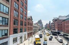 14-ая улица NYC Стоковые Изображения