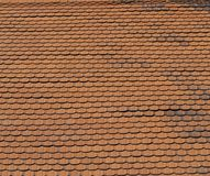 Ая черепицей крыша стоковое изображение rf