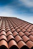 Ая черепицей крыша Стоковые Фото