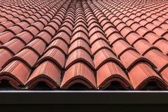 Ая черепицей крыша Стоковая Фотография