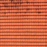 Ая черепицей текстура крыши. Стоковое фото RF