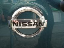 14-ая 16th выставка дороги s сентября 2011 25th nissan мотора логоса фарфора chengdu к западу Стоковое Изображение RF