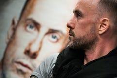 Адам Michal Darski - Nergal Стоковые Изображения RF