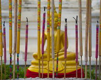 ладан Будды Стоковая Фотография
